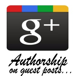 Google Authorship Guest Posts